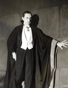 Actor Bela Lugosi as Dracula; anonymous photograph, Universal Studios, 1931.