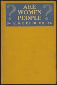 """Are Women People?"" Book Cover"