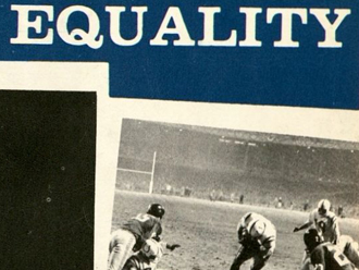 "Cropped view of a scan of ""Toward Equality: Baltimore's Progress Report"""