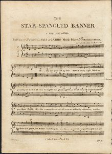 Sheet Music Cover for The Star Spangled Banner
