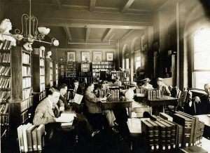 Students in McCoy Hall