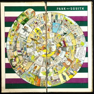Historic Game Board Pank a Squith