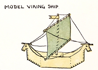 Model Viking Ship Cropped