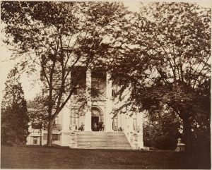 Evergreen House, circa 1880