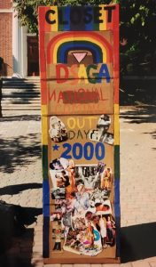 Painted DSAGA Closet Door from 2000