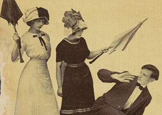 Anti Suffrage Postcard