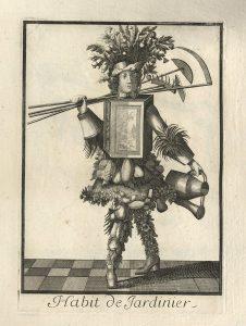 Nicolas de Larmessin's Costumes Grotesques: The Gardener