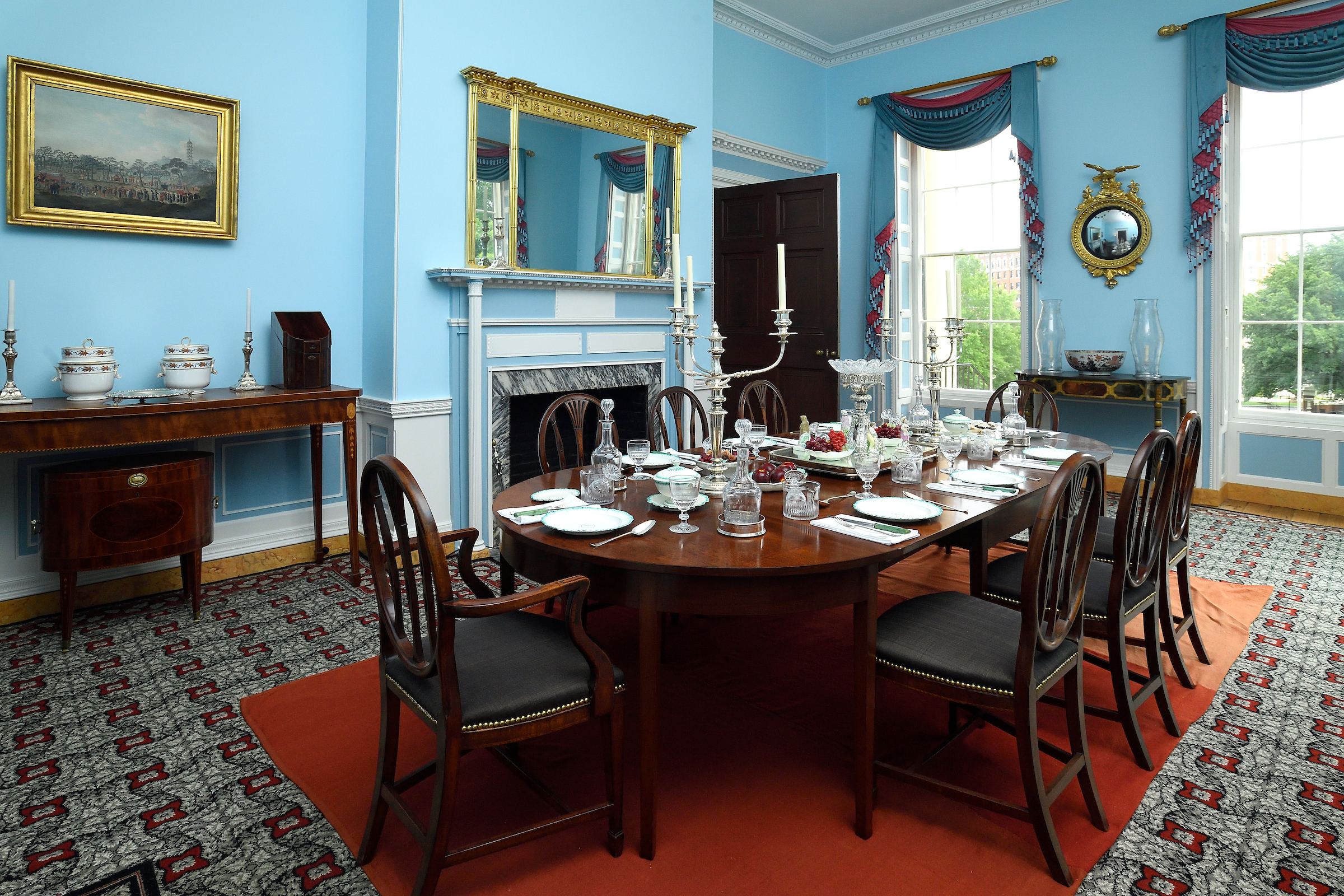 Homewood Museum Dining Room