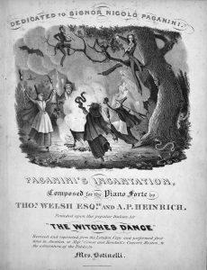 sheet music cover for paganinis incantation