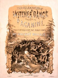 sheet music cover for witches dance